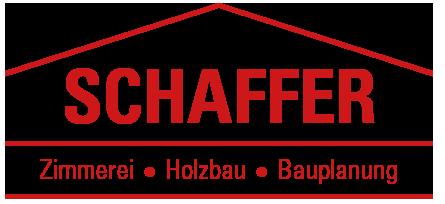 Holzbau Schaffer Logo